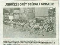 Jihočeši opět sbírali medaile